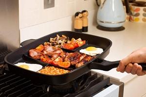 Lazy Man Frying Pan