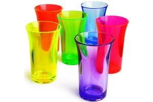 Neon Shot Glasses