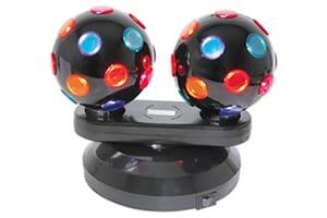 QTX Dual Rotating Disco Balls