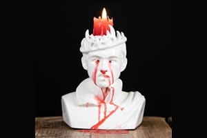 Game of Thrones: Bleeding Joffrey Candle